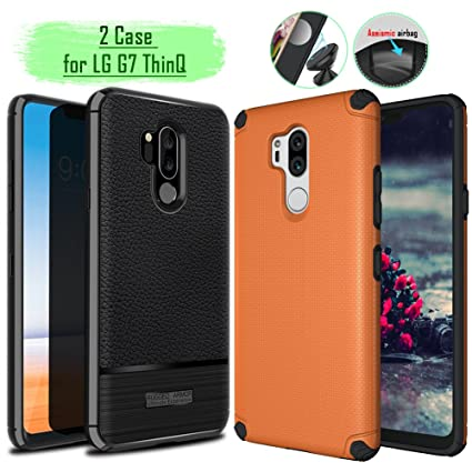 Amazon.com: Rebex - Carcasa rígida para LG G7 ThinQ (2 ...