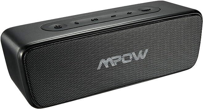 Altavoz Exterior, Mpow R6 Bluetooth Altavoz 4.2, 360 ° Bass+ ...