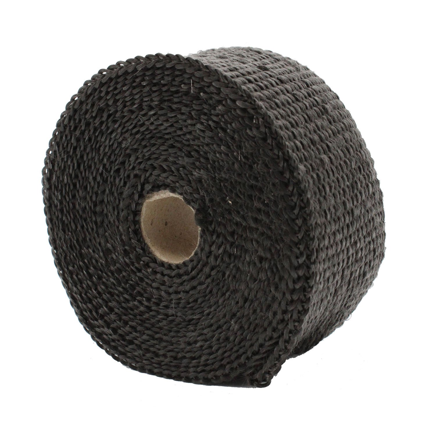 TAKPART 5M x 5cm Car Titanium Exhaust Heat Ties Wrap Roll Black Tape for Motorcycle with 10 Cable Ties 20cm