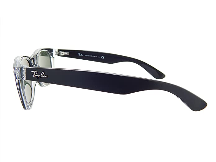 Amazon.com: New Ray Ban RB2132 6052 Black+ Clear/Crystal Green 52mm Sunglasses: Shoes
