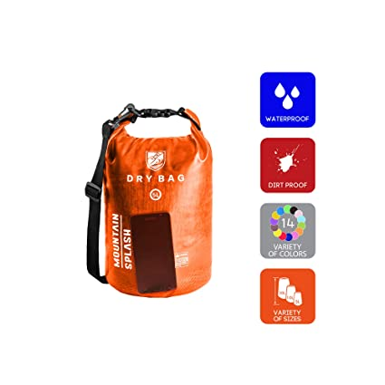 6ce3441dc548 Waterproof Dry Bag 5L 10L 20L-Water Resistant Lightweight Backpack with  Handle-Floating Dry Storage Ocean Bag Keeps Gear Impervious to Water-Perfect  for ...