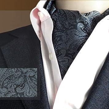 LIXIONG Hombres Corbata Bufanda Pañuelo de Doble Cara ...