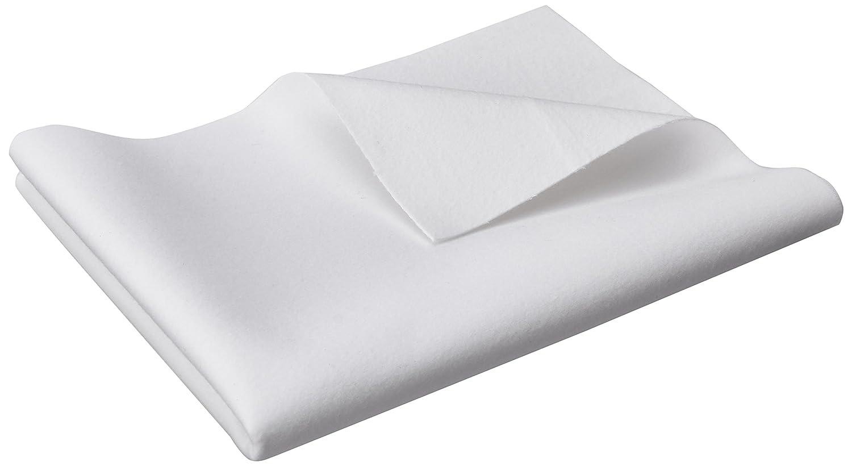 Jollein Flanel Sheet Waterproof (80 x 100 cm, White) 013_0002
