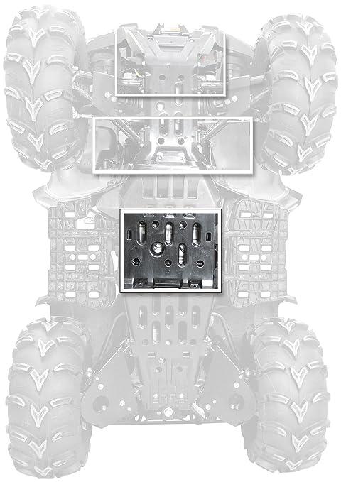 Polaris Genuine Accessories Rear Rack Extender Black 09-12 POLARIS SPORTSX850