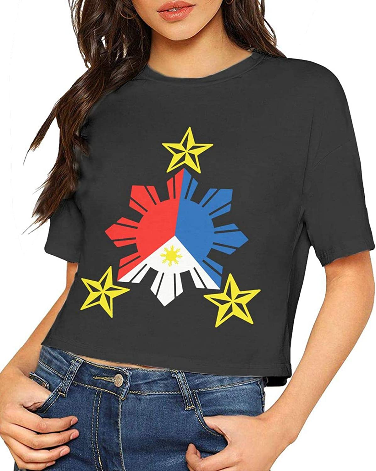 Womens California Republic Tribal Short-Sleeve T-Shirt