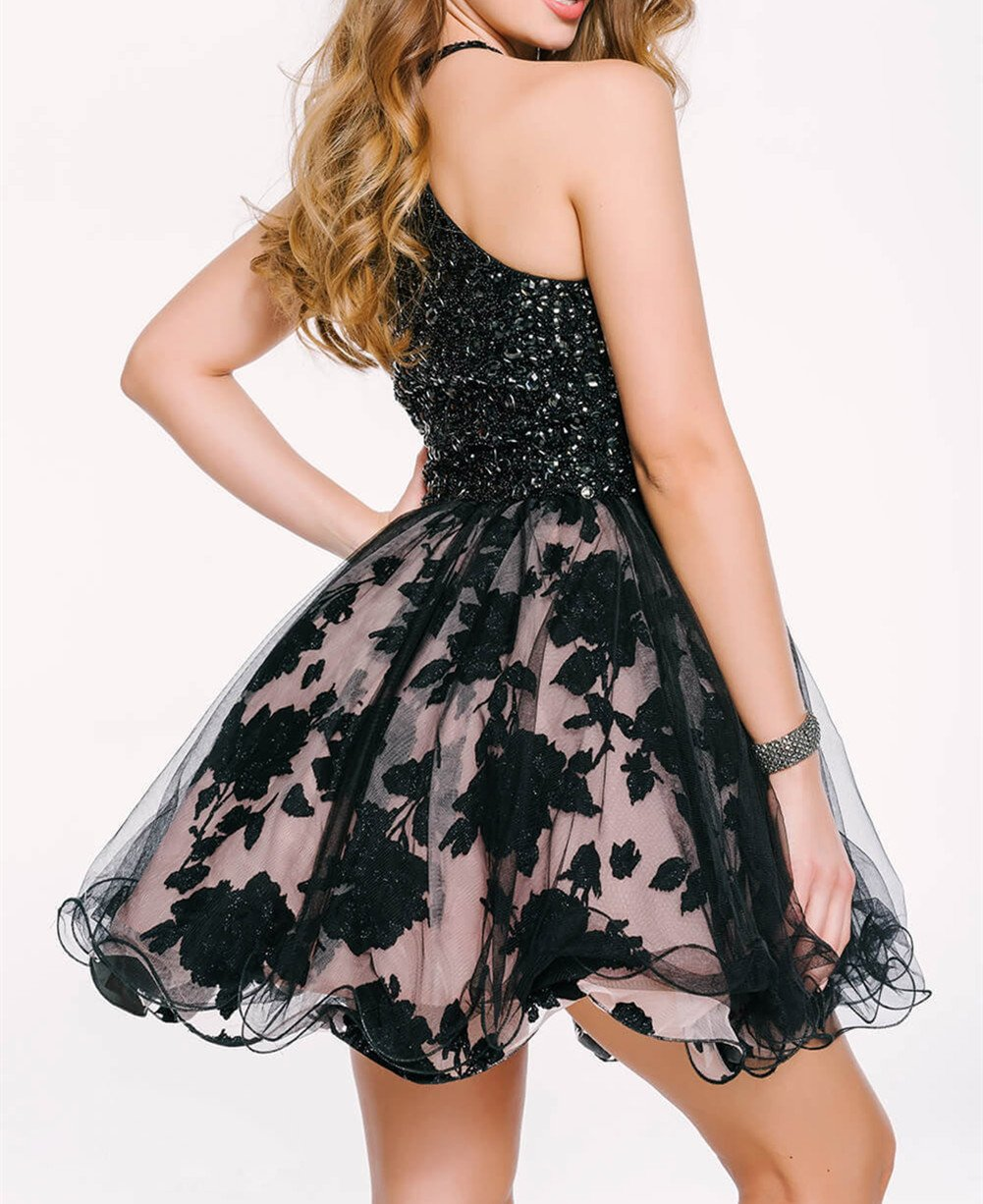 Tdress Girl's Scoop A Line Beaded Homecoming Dresses Size 8 by Tdress (Image #2)