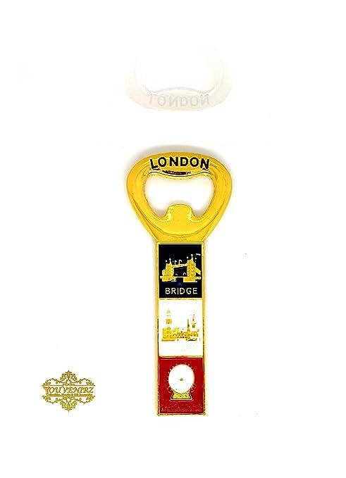 Iconos de Londres recuerdo de Reino Unido abridor de botellas para ...
