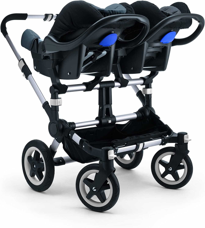 Bugaboo Donkey Twin Adaptor For Auto Chair britax-r/ömer Dark Grey