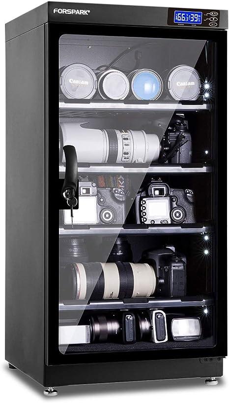 FORSPARK - Armario para deshumidificar cámaras de 8 W y 100 L, sin ...