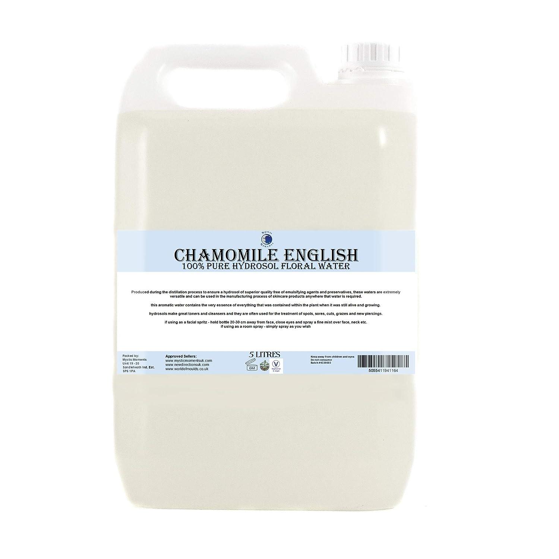 English Chamomile Hydrosol Floral Water - 5 Litres B01DDNB4ZU