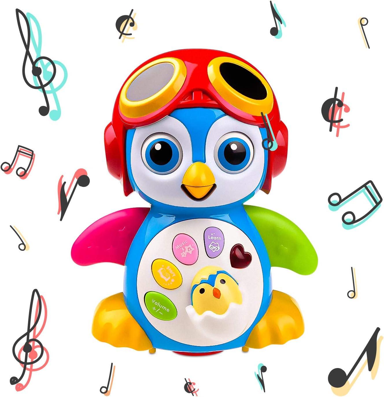 Dancing Penguin Toy Kids Toddler Musical Boy Girl Gift Learn Educational NEW