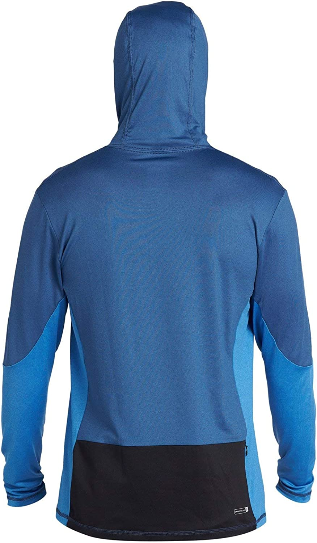 Quiksilver Herren Angler Hooded Ls Long Sleeve Rashguard Surf Shirt Rash Guard Hemd