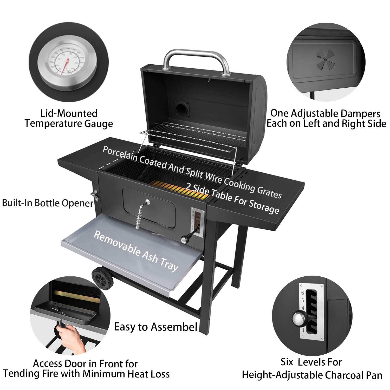 Best Charcoal Grill Reviews and Buying Guide 13