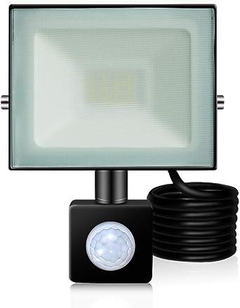 2X 20W LED Fluter Flutlicht Kaltweiß Ultradünn Außen Strahler Scheinwerfer IP65