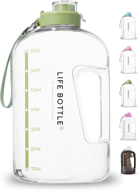 Motivational bouteille d/'eau avec le temps MarqueursTracker mesures pour vous aider à T