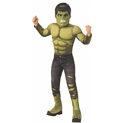 Rubie\'s Marvel Avengers: Infinity War Deluxe Hulk Child\'s Costume, Medium: Toys & Games [5Bkhe1903632]