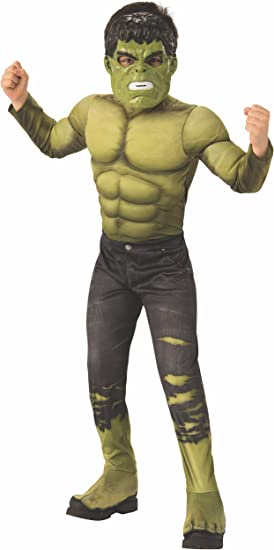 Avengers - Disfraz de Hulk para niño, infantil 5-7 años (Rubies ...