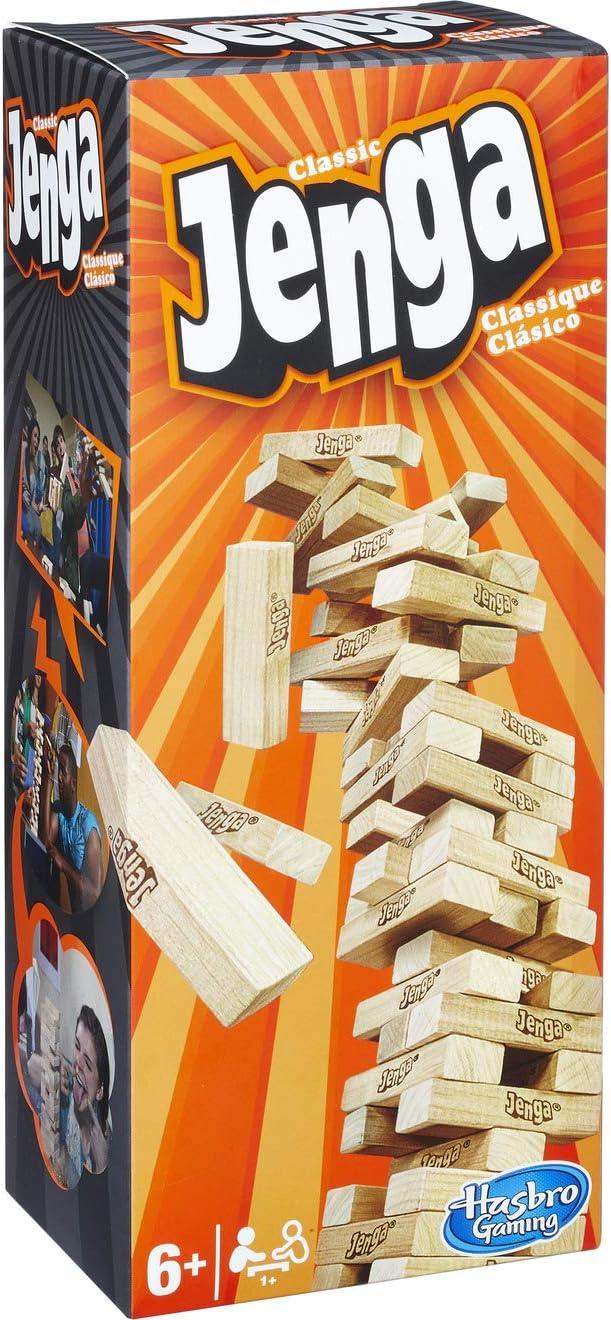 Hasbro- Juego Jenga Clasico Mesa (HAS02120): Amazon.es: Juguetes y juegos