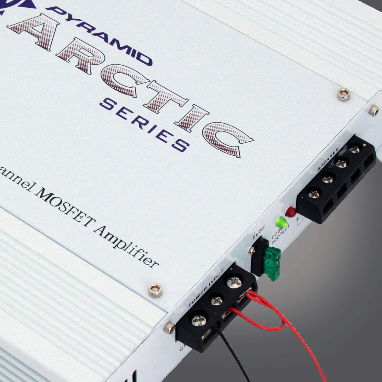 Pyramid Pb717x 1000 Watt 2 Channel Bridgeable Amplifier Complete True 8 Gauge Install Wiring Power Amp Kit Ebay Car Electronics