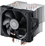 Cooler Master Hyper 612 Ver.2 - Silent CPU Air Cooler with 6 Direct Contact Heatpipes and Folding Fin Structure