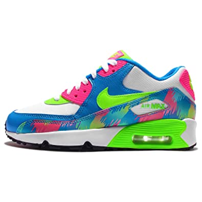 more photos 18f50 e3c77 Nike Air Max 90 Print Mesh Gs, Girls  Sneakers