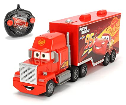 DICKIE TOYS Cars 3 Turbo RC Car 1/24 Mack Truck Movie