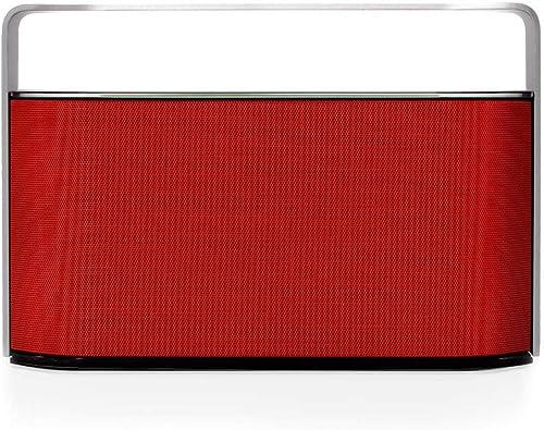 Wireless Bluetooth Speaker – GrooveBox Red