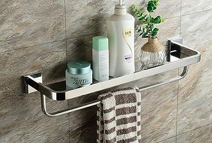 Mensole Da Bagno In Acciaio : Bathroom sa mensole bagno scaffale da bagno 304 bagno in acciaio