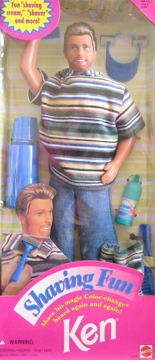 """nuevo listado Barbie Shaving Fun KEN KEN KEN Doll w """"Magic"""" Color Change Beard  Accessories (1994)  Felices compras"""