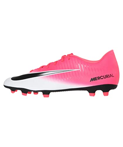 cdaa0ed252ce Image Unavailable. Image not available for. Color  Nike Mercurial Vortex  III FG Racer Pink Black White Men s ...