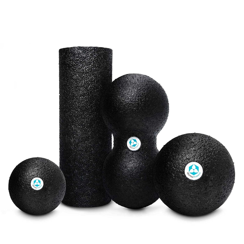 Faszienbälle, Mini Faszienrolle & Duo-Ball - ideal für Faszientraining