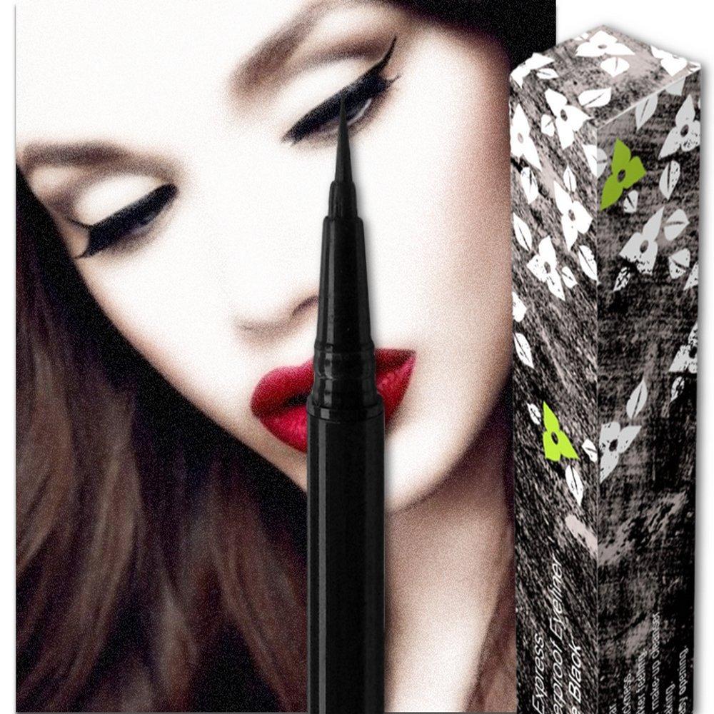 Nikka Notto Liquid Eyeliner Waterproof Black, Precise Wear, All Day
