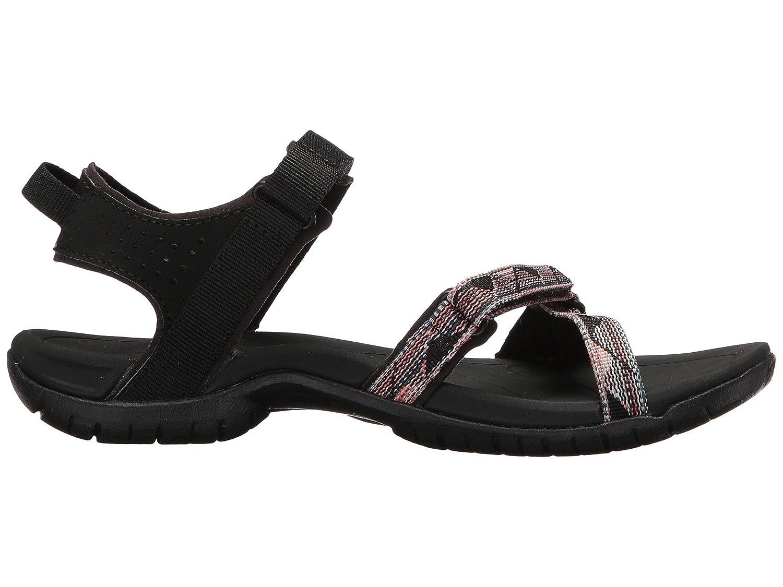 Teva Women's Verra Sandal B07BRKDM9M 6.5 D(M) US|Suri Black Multi