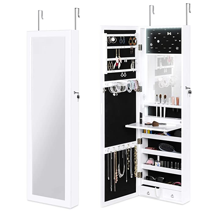 The Best Home Decorators Collection Keys Aquamarine Jewelry Armoire