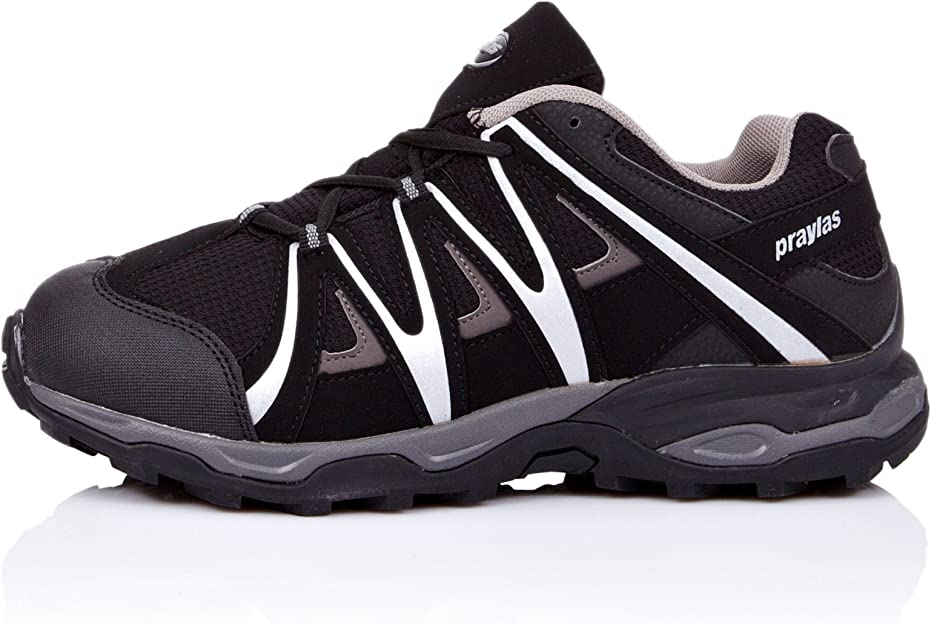 Praylas Zapatillas Trekking Garcilla Negro/Gris EU 45: Amazon.es: Zapatos y complementos