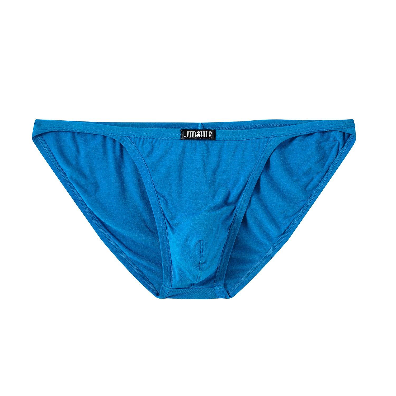 JINSHI Mens Bikini Briefs Low Rise Tagless Bamboo Underwear XXXL(39''-42'')/US size XL by xidunpai (Image #5)