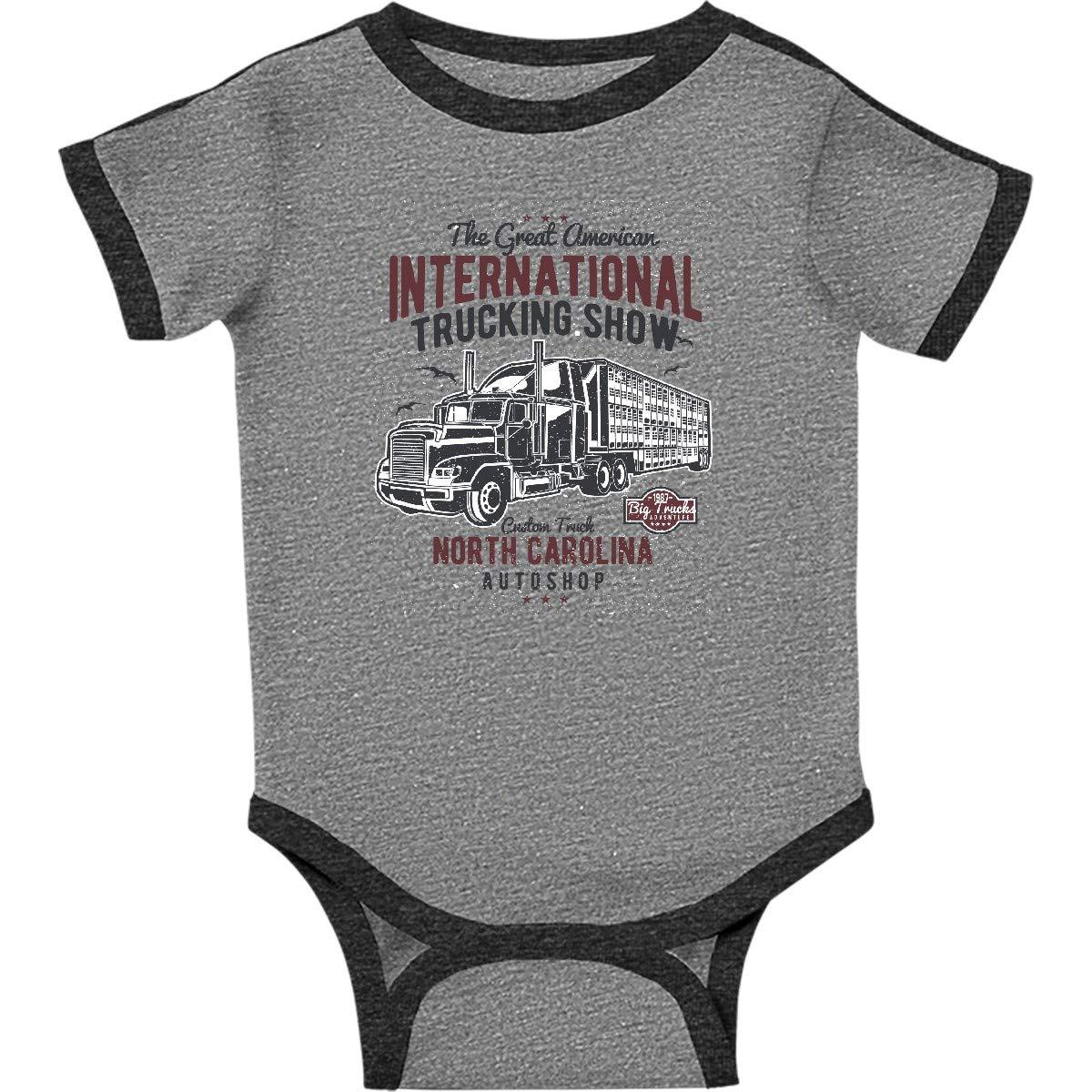 5485796430fe7 Amazon.com  inktastic - Big Truck Infant Creeper 2cb70  Clothing