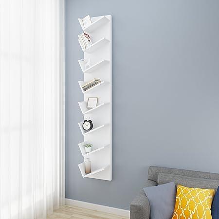 Modrine - Estantería compacta para Libros, tamaño Grande, 8 Unidades, Formato CD, DVDs, Pantalla de Estante para Libros, Color Gris Oscuro: Amazon.es: Hogar