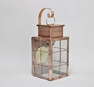 product image for Brass Traditions 421 SHBAC Medium Wall Lantern 400 Series , Antique Copper Finish 400 Series Wall Lantern
