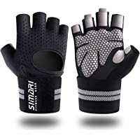 SIMARI Workout Gloves Men Women Full Finger Weight Lifting Gloves with Wrist Support for Gym Exercise Fitness Training…