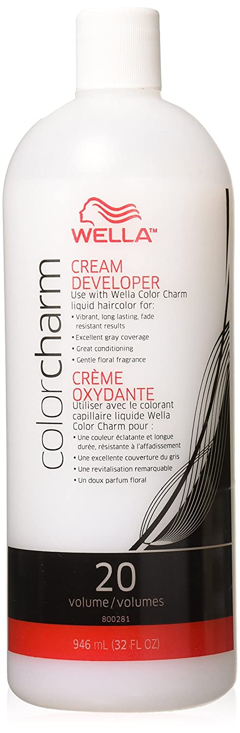 Wella Color Charm Creme Developer, 20 Volume - 32 oz WELLA STUDIOS B0032JZUA6