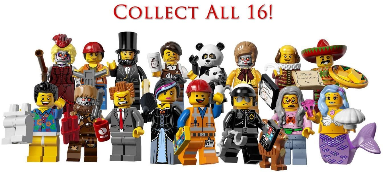 Toys Hobbies Genuine Lego 71004 Movie Series Minifigure No 11 Velma Staplebot Lego Minifigures Themadrasflyingclub Org