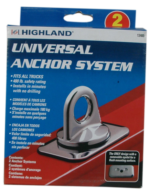 Highland 1340000 Universal Chrome Anchoring System