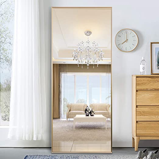 Amazon Com Pexfix Floor Mirror Full Length Mirror Bedroom Ultra