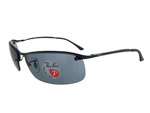 e52e0a0b17 New Ray Ban RB3183 002 81 Black  Grey Gradient 63mm Polarized Sunglasses   Amazon.ca  Jewelry
