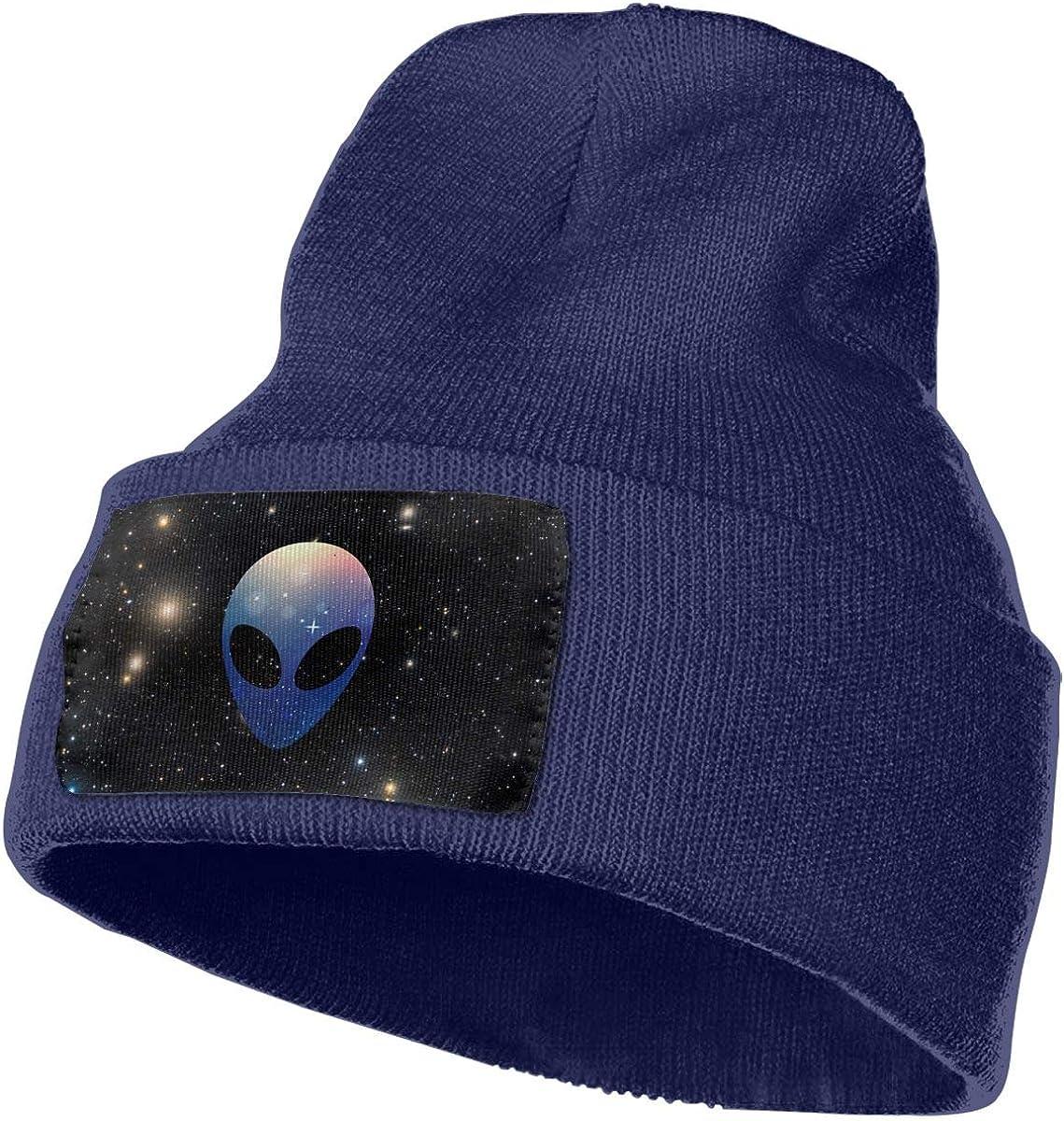 Space Alien Head Colorful Winter Beanie Hat Knit Skull Cap for for Men /& Women