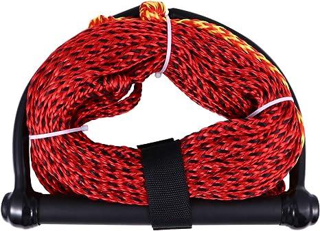 BESPORTBLE Wasserski Seil Schwimmenden Griff Seile Wakeboard Seil Griff zum Bootfahren Wassersport Knieboard Wakeboard Zuf/ällige Farbe