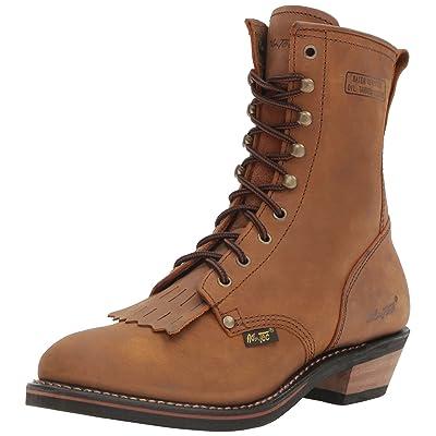 "Adtec 9224 9"" Packer Tan Work Boot | Industrial & Construction Boots"