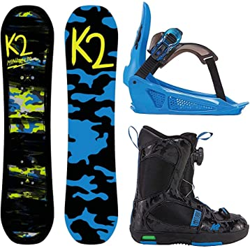 K2 Pack Snowboard Boys GROM Package 90 cm, Negro: Amazon.es ...