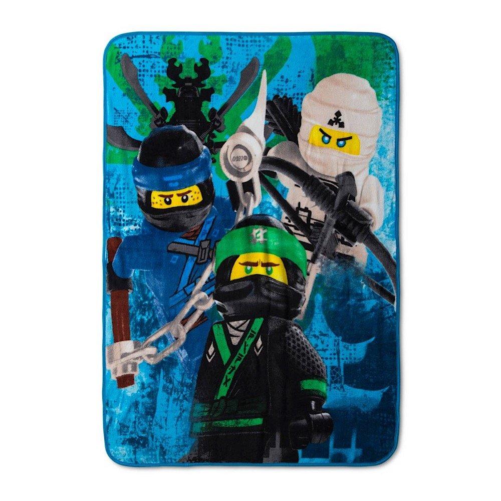 LEGO Ninjago Bedding Plush Throw Blanket - 46 in. x 60 in. by LEGO